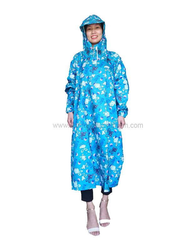 Áo mưa bít thân/liền PN 04