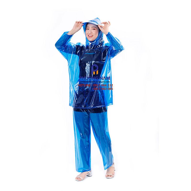 Bộ áo mưa PVC đủ màu