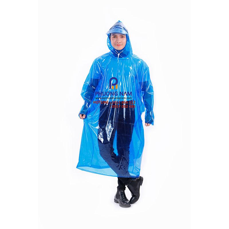 Áo mưa bít PVC đủ màu