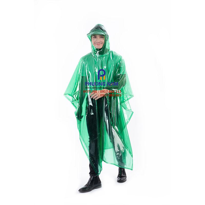 Áo mưa cánh dơi PVC hết khổ